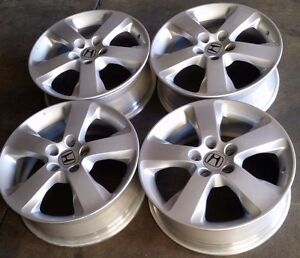 Honda Accord Crosstour Factory Oem Alloy Wheels Rims 17x6 1 2 2010 2012