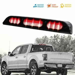 For 2015 2018 Ford F 150 Led Third 3rd Brake Light Tail Lamp Smoke