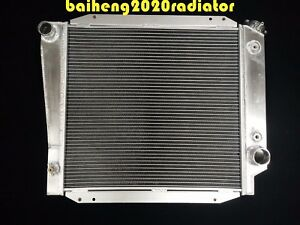 Radiator Fit Ford Bronco Wagon roadster 1968 1977 5 0l 302 V8 3 Rows Aluminum