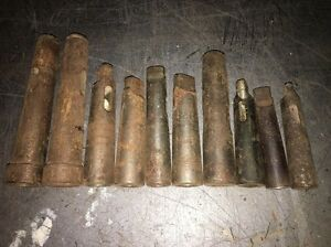 Lot Of 10 Morse Taper Metal Working Tooling Adapters In Various Sizes
