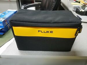 Fluke Large Soft Case Bag 12 7 7 Free Set Of Fluke Ac72 Alligator Clips