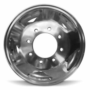 New 16 x6 Rear Aluminum Wheel Rim For 1999 2004 Ford F350 Drw 8 170mm