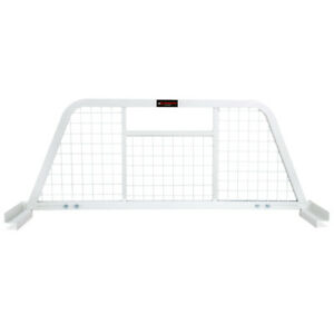 Pickup Truck Back Rack Steel Headache Rack Rear Window Cab Guard White