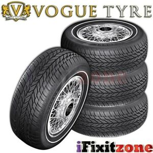 4 Vogue Tyre Classic White Grand Touring 225 60r16 102t Xl Performance Tires