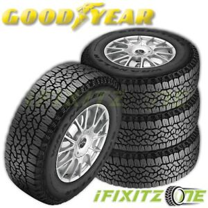 4 Goodyear Wrangler Trailrunner At Lt265 75r16 112r C Owl Performance Tires