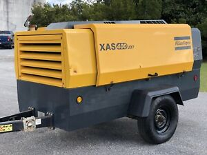 2016 Atlas Copco Xas400jd7 It4 Compressors