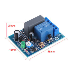 Adjustable Ac 220v Timer Relay Delay Module Timing Turn On off Switch Board