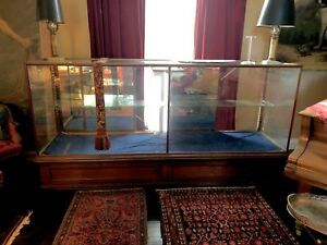 Huge Antique Store Display Case local Pickup Only Maine