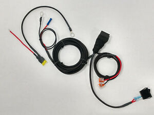 Polaris Slingshot Hardwire Relay W switch 12v trigger Harness