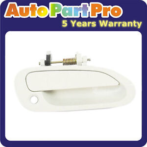 For Honda Accord Nh578 Taffeta White 1998 2002 Outside Door Handle Front Right