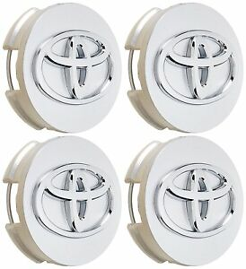 Toyota 4pc Center Caps 62mm For Camry Sienna Highlander Prius V 42603 12730