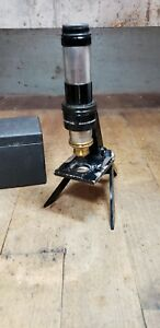 Vintage Bausch And Lomb Folding Field Micro Scope