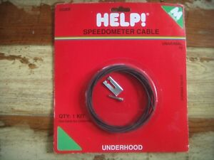 Speedometer Cable Universal 70 Inches Underhood Speedo
