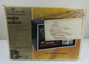 Sears Craftsman Electronic Engine Analyzer 28 21040 Professional Complete New