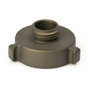 Aluminum 1 1 2 Female Nh To 1 Male Npsh Fire Hose Adapter