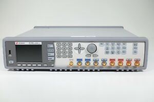 Keysight Used 81150a 2 channel 120 Mhz Pulse function arbitrary Gen agilent