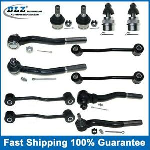 For 1999 2004 Jeep Grand Cherokee Front 4 Ball Joints 2 Sway Bars 4 Tie Rod Ends