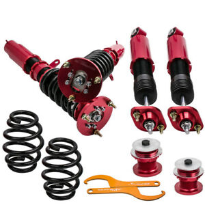 Coilover Shock Kit For Bmw E46 3 Series I4 L6 Gas Dohc Adjustable Height