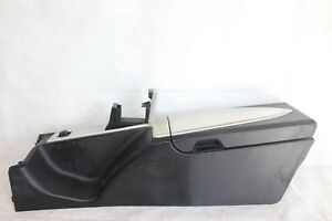 2004 Chrysler Crossfire 112 Center Console Arm Rest Compartment Dark Gray