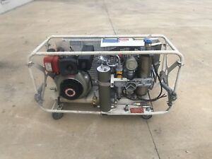 Breathing Air Compressor Bauer With Yanmar Diesel Paintball