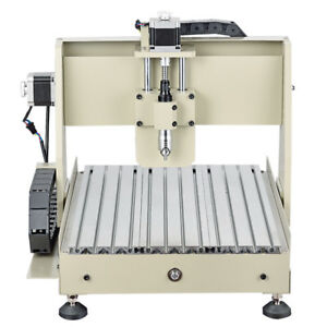 3040 Cnc Router 4 Axis Engraver Engraving Machine Vfd Pcb Milling Drilling 560w