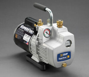 Yellow Jacket 93560 Superevac Two Stage Vacuum Pump 6 Cfm