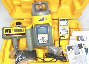 Trimble Spectra Precision Gl612 Level Hl750 Receiver Rc602 Remote Single Slope