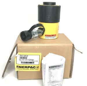 Enerpac Rc 251 Hydraulic Cylinder 25 Ton 1 Stoke Usa Made New