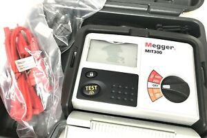 New Megger Mit300 ent Analog digital Insulation Tester 250v And 500v