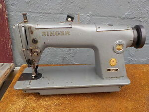 Industrial Sewing Machine Singer 281 22 one Needle needle Feed leather