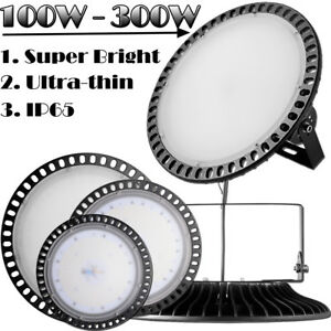 300watt 200watt 100watt Led High Bay Light Warehouse Shop Lights Industrial Lamp