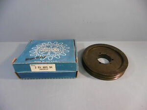 Martin Bushing Bore V belt Pulley 2 5v 900 Sk 2 Grooves Used