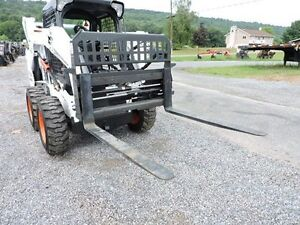 2018 Cid Xtreme Duty 48 Hydraulic Pallet Forks 4 000 Lbs Skid Steer Loader