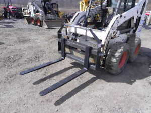New Cid Xtreme 42 Skid Steer Pallet Forks For Compact Tractor Kubota Deere New