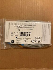Ts g3 3 M 10 Ft Trusignal Spo2 Interconnect Cable W Ge Connector