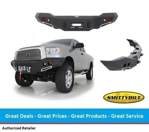 Smittybilt M1 Front Winch Bumper With Light Kit For Toyota Tundra 07 13
