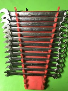 Snap On Combination 12pt Wrench Set 13 Piece Set