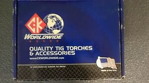 Ck Worldwide Tig Torch Ck20 25 Water Cooled Tig Welding Made In Usa