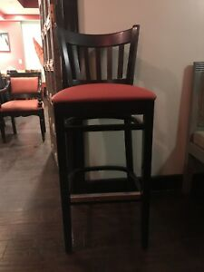 Restaurant Industrial Bar Stool Chair