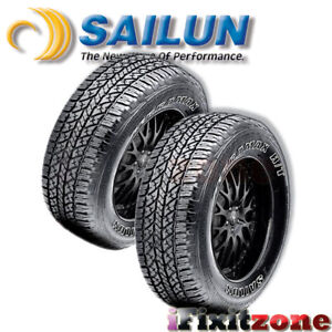 2 X New Sailun Terramax H t 215 75 15 100s Owl All Season Truck suv Tires
