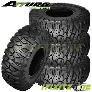 4 X New Atturo Trail Blade Boss Lt37x12 50r17 124q Tires