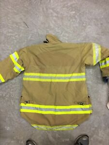 Morning Pride Turnout Gear Coat Size 44 And 42 Firefighter Fire