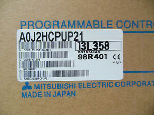 Mitsubishi Plc Aoj2hcpup21 A0j2hcpup21 New Free Expedited Shipping A0j2h cpup21