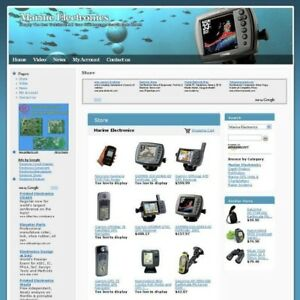Established Marine Electronic Online Business Website For Sale Work From Home