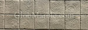 Stamped Concrete Mat And Border Sm 5010 Wood Logs Stamp Mats