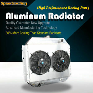 Aluminum Radiator Fan Shroud For Ford Bronco F100 F150 F250 F350 F500 70 79