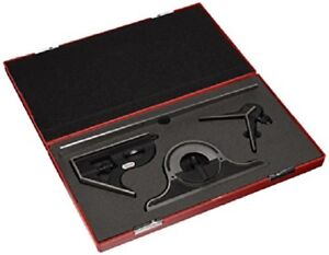 Starrett 12 Combination Set With Square Center And Reversible Protractor Head