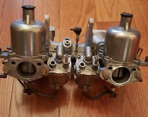 Dual Su Carburetors