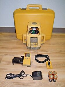 Topcon Rt 5sb Dual Slope Machine Control Grade Laser Level