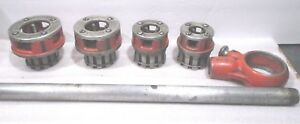 Ridgid 111r Die Pipe Threader 4 Dies 1 2 3 4 1 1 1 4 Tools